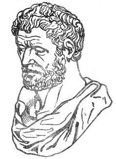 Греческий философ Демокрит.