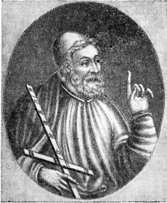 Клавдий Птоломей (как он   чаще   всего изображается).