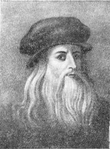 Леонардо да-Винчи (автопортрет).