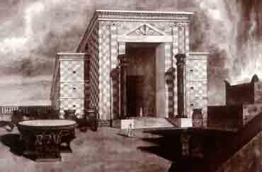 Реконструкция храма Соломона (Первого храма)