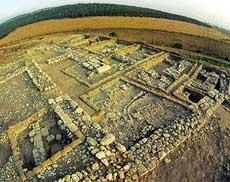 Развалины Мегидо (Армагеддона)