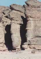 Знаменитые Соломоновы Столбы на медных рудниках